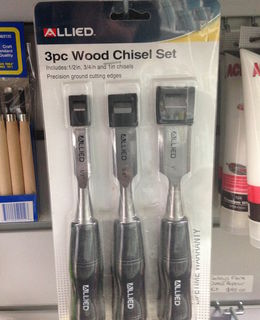 Chisel set, 3 pc